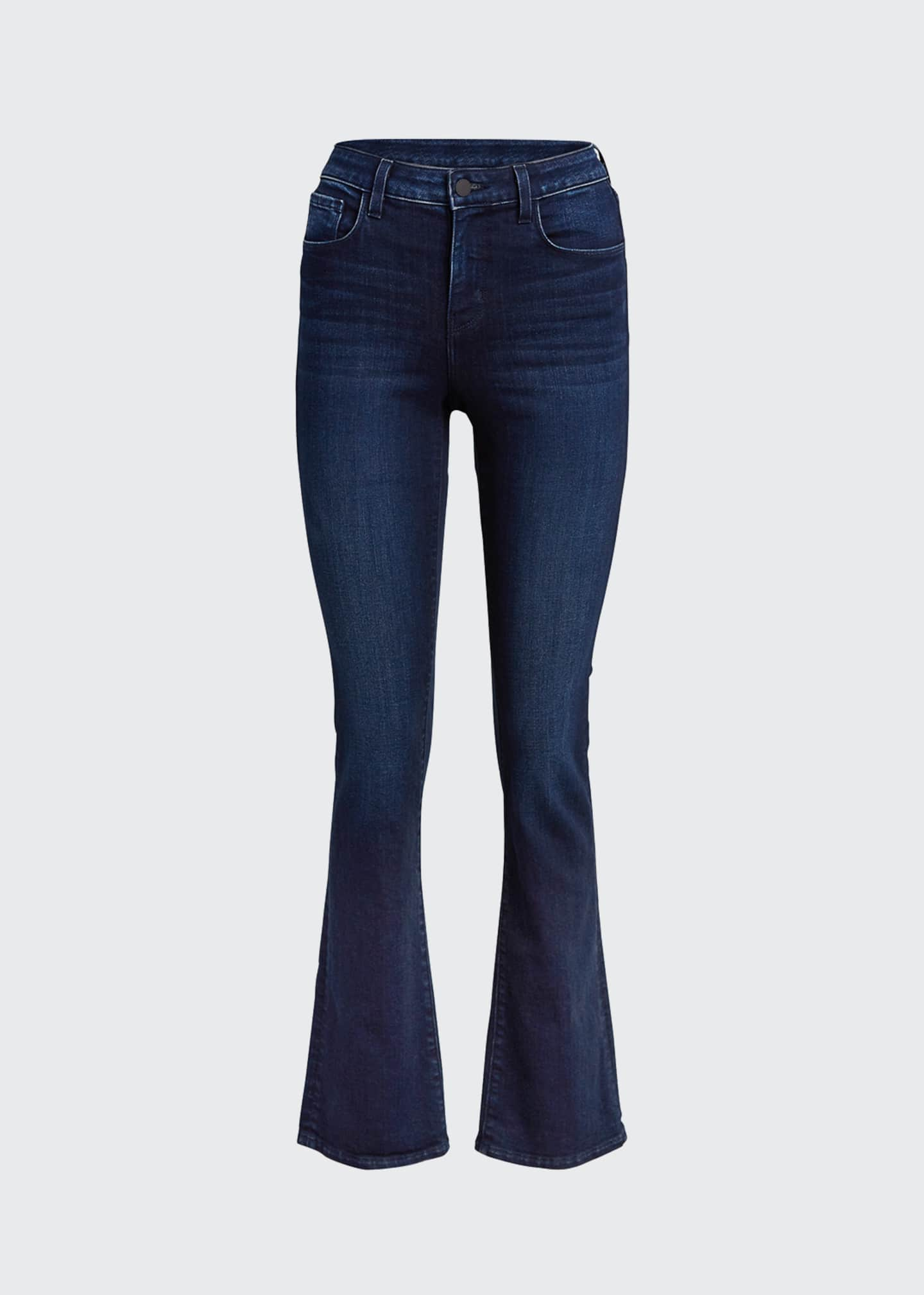 Image 5 of 5: Oriana High-Rise Straight Jeans