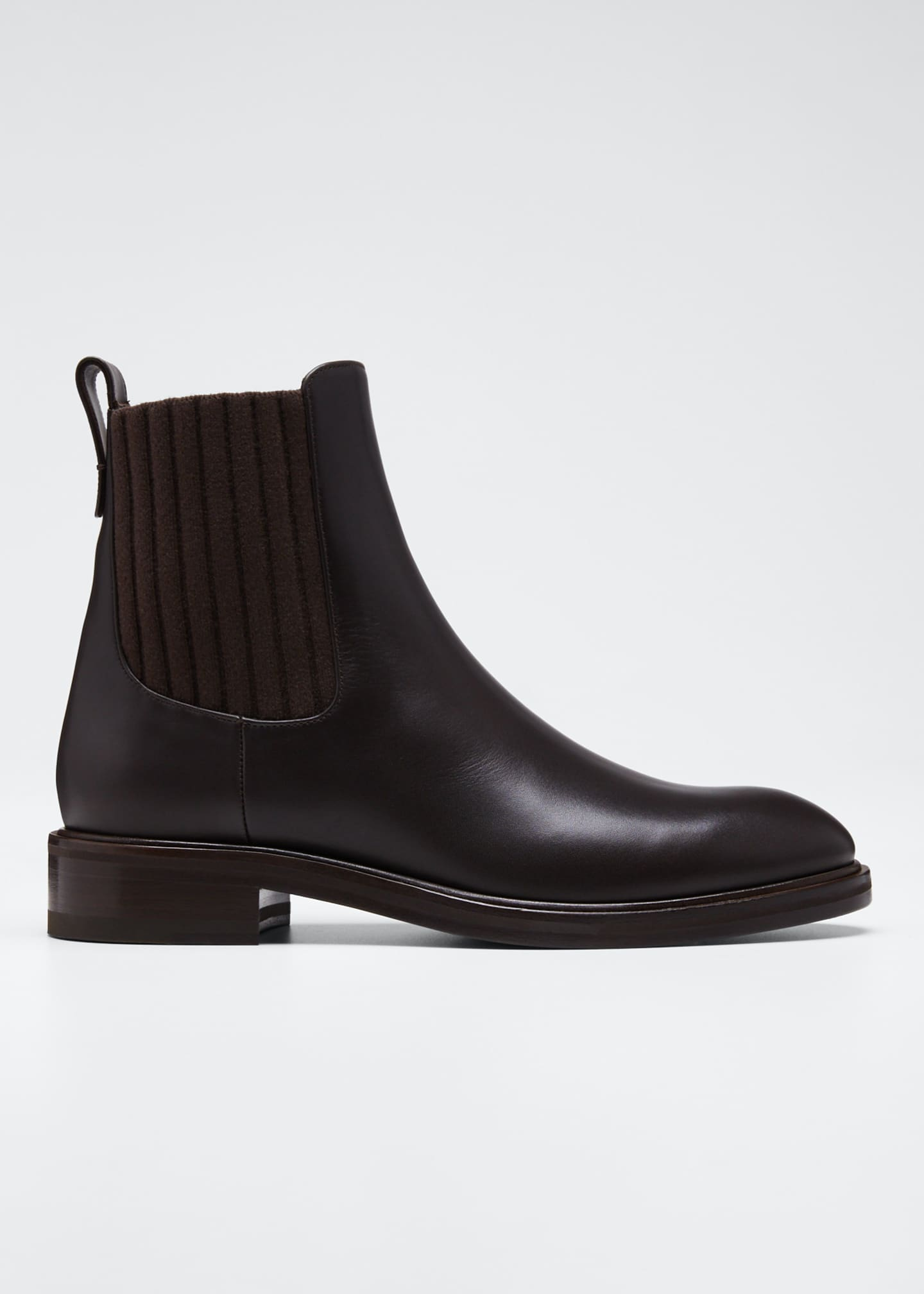 Image 1 of 5: Auckland Leather Chelsea Booties