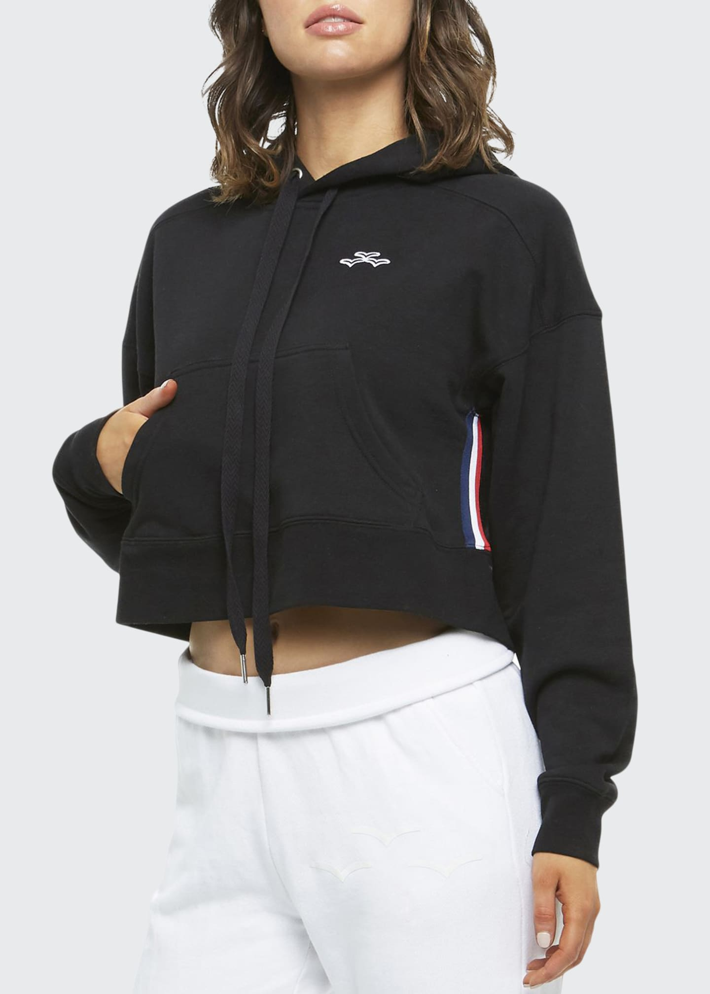 Lazypants Elena Cropped Pullover Hoodie