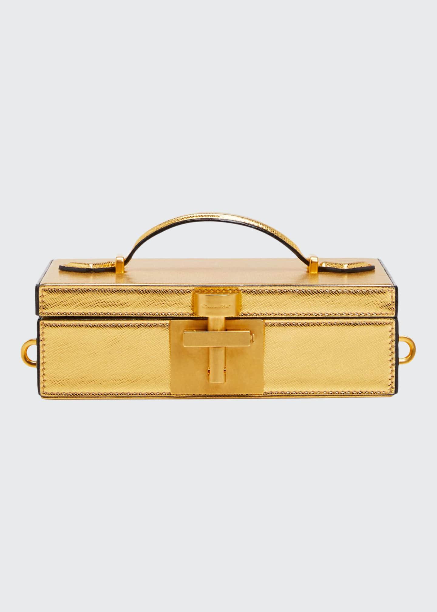 Oscar de la Renta Alibi Framed Minaudiere Bag,
