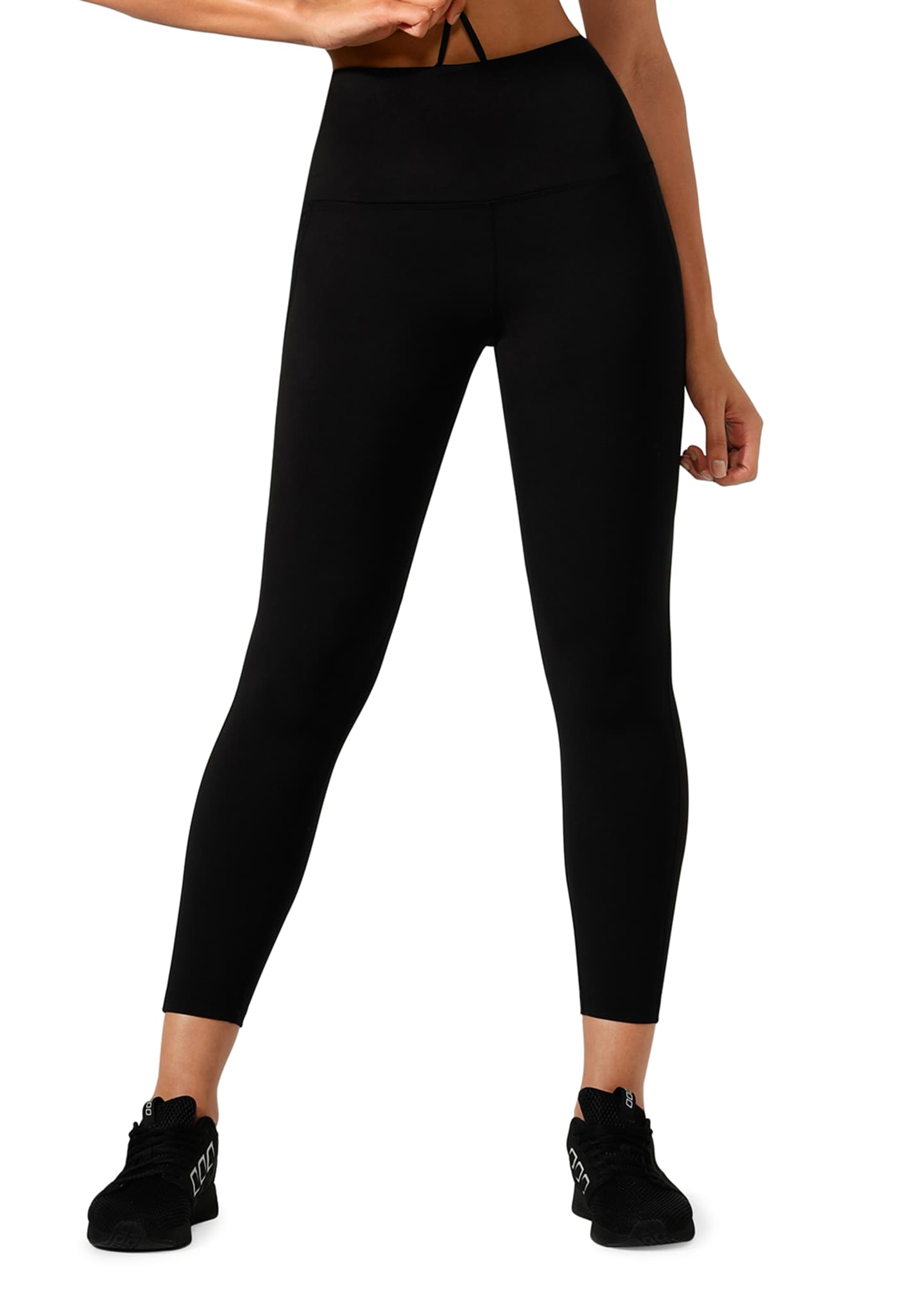 Lorna Jane Booty Phone-Pocket Ankle Biter Leggings