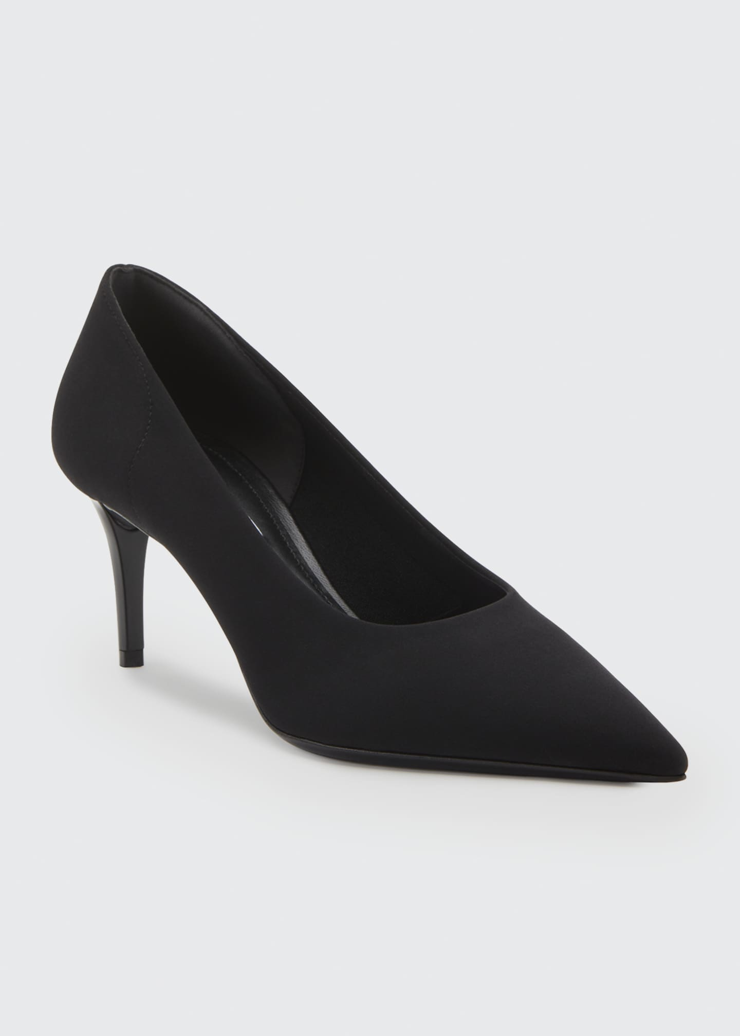 Image 2 of 2: Fabric Stretch 65mm Pumps