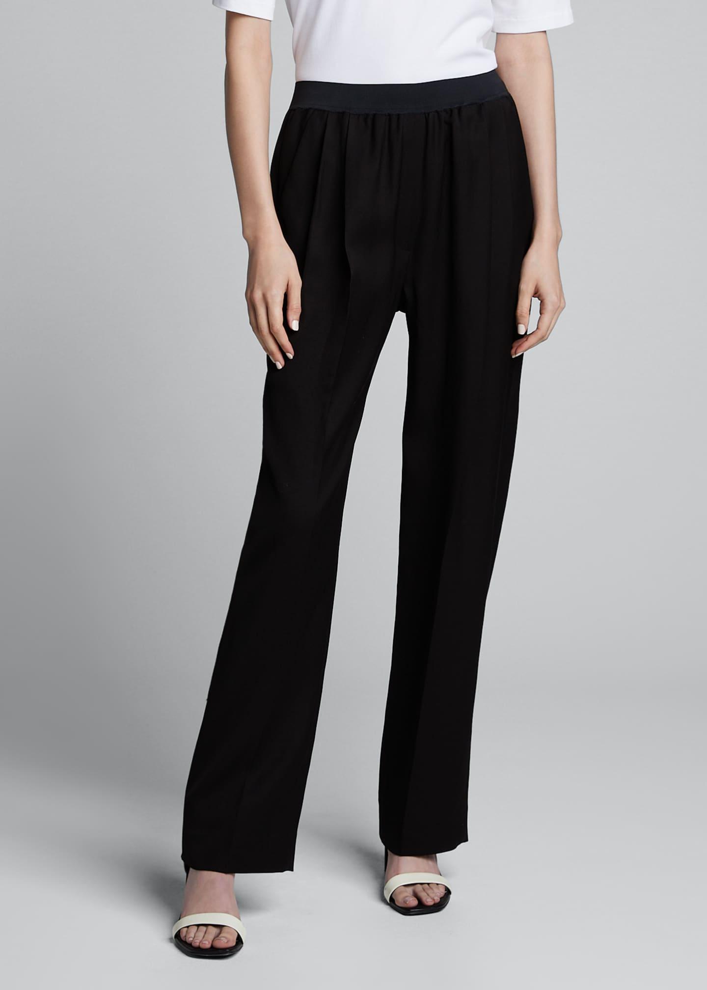 Loulou Studio Takaroa Pull-On Easy Pants
