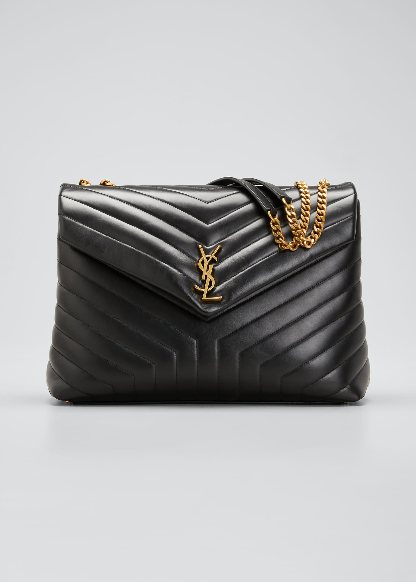 Leather Ysl Loulou Ysl Bag Loulou Quilted Loulou Quilted Quilted Leather Bag 34j5ARL