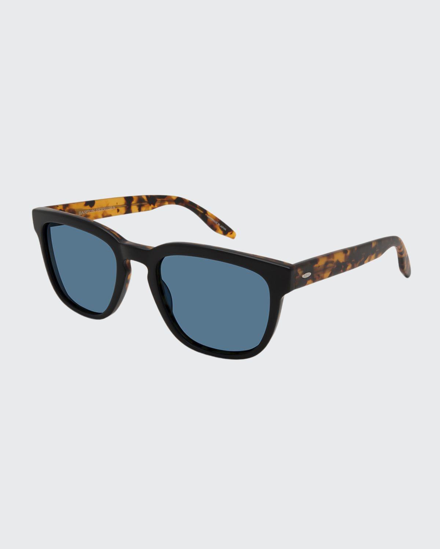 Men's Coltrane Square Acetate Sunglasses