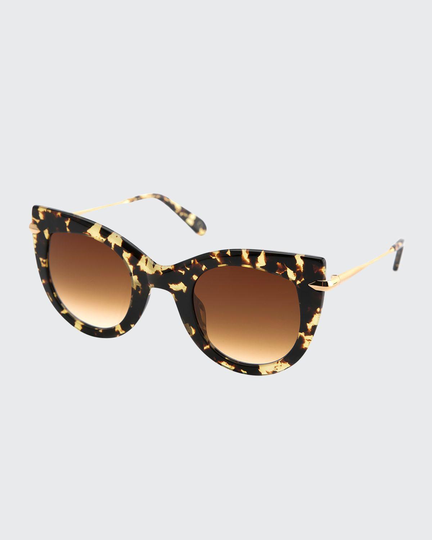 Laveau Cat-Eye Sunglasses