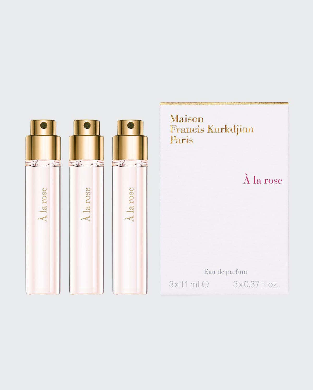 À la rose Eau de Parfum Travel Spray Refills