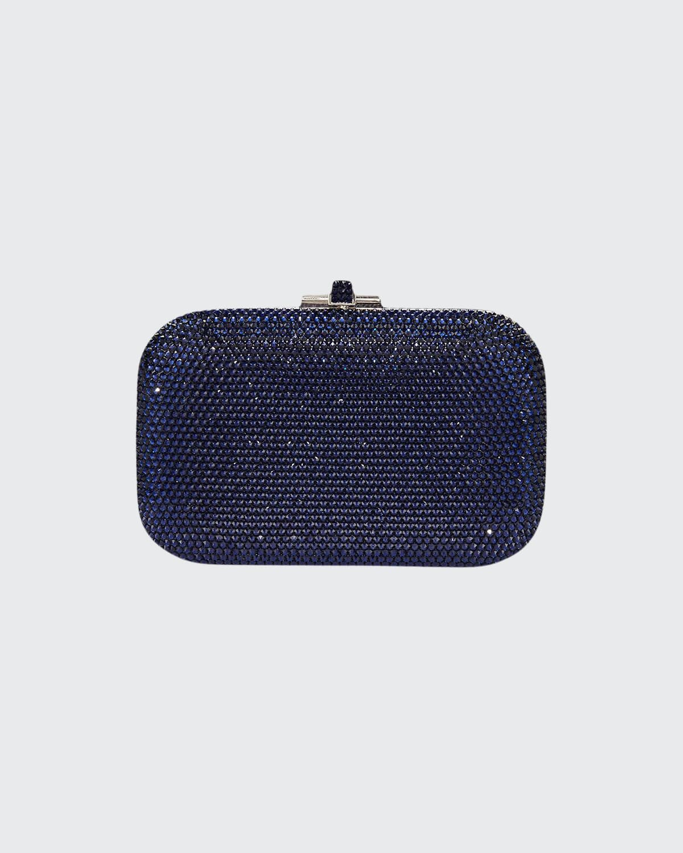 Crystal Slide-Lock Clutch Bag