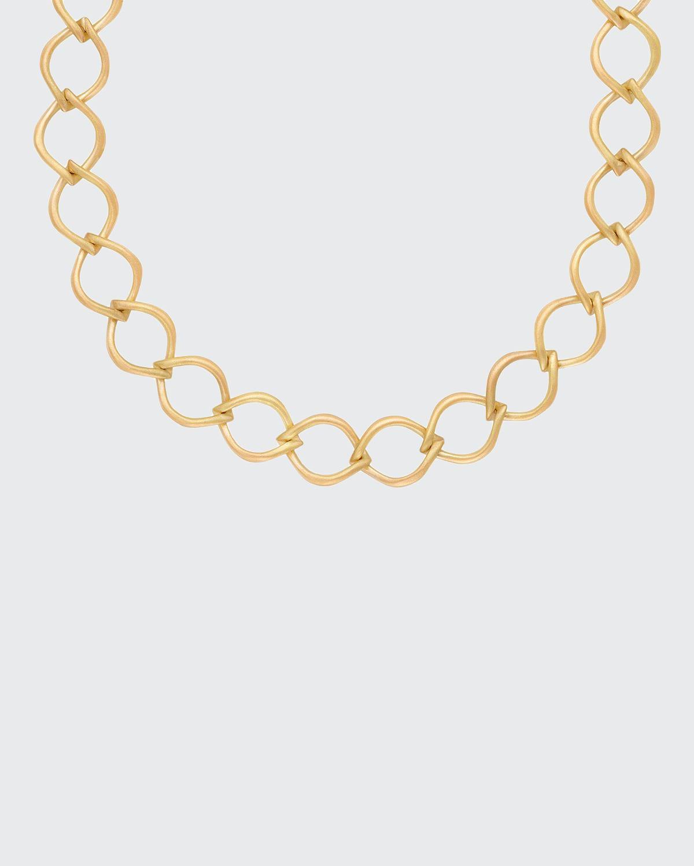 18k Aladdin Chain-Link Necklace