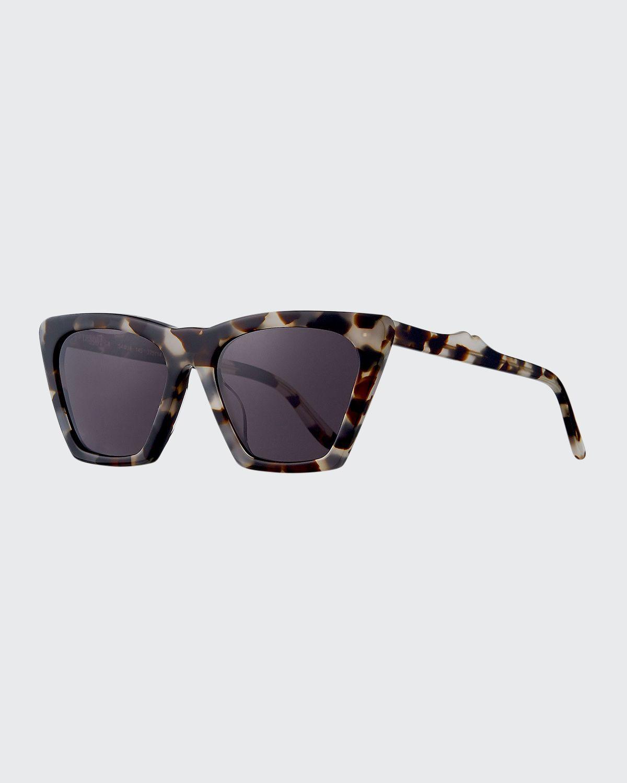 Lisbon Cat-Eye Acetate Sunglasses
