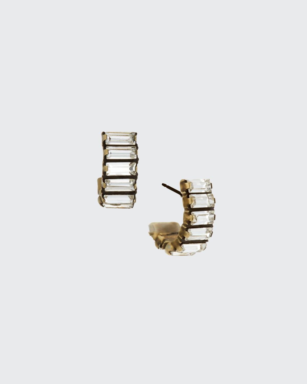 Hayden Huggy Hoop Earrings