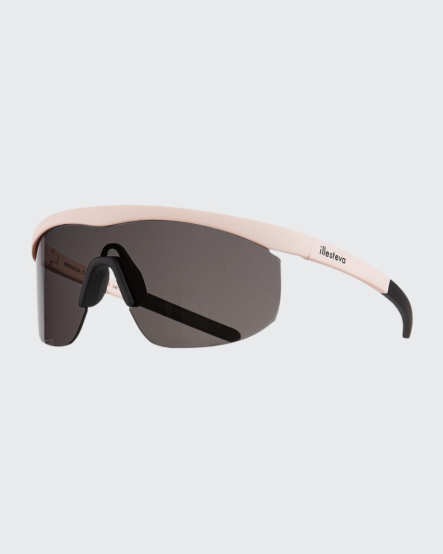 Managua Monochromatic Shield Sunglasses