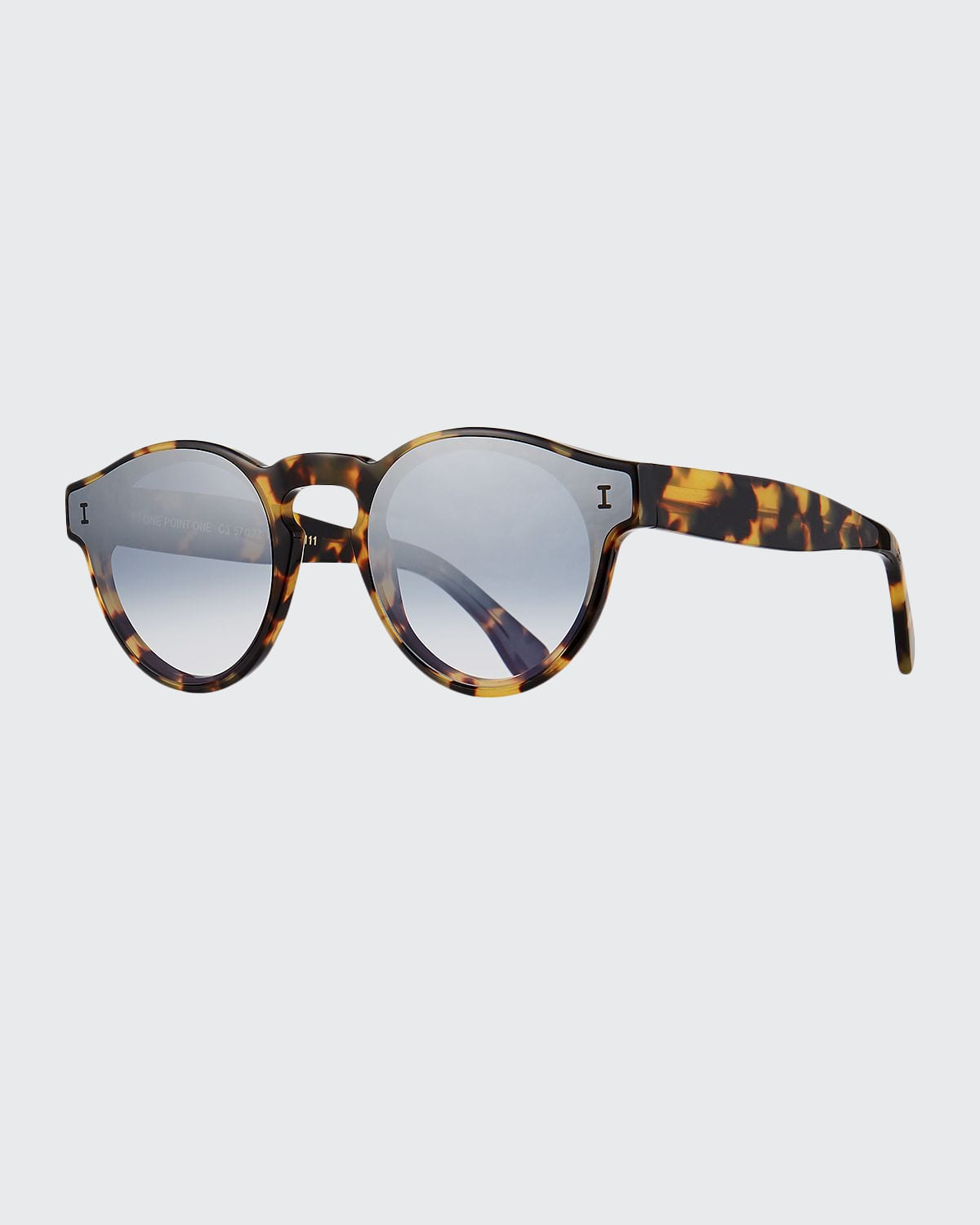 One Point One Round Acetate Sunglasses