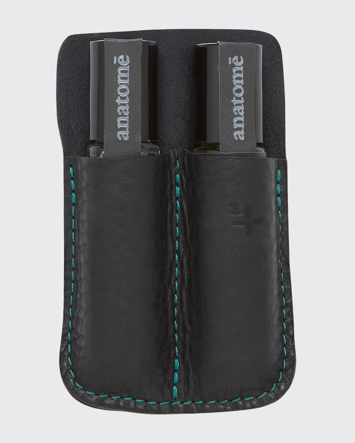 Double Leather Travel Holder for 10 mL