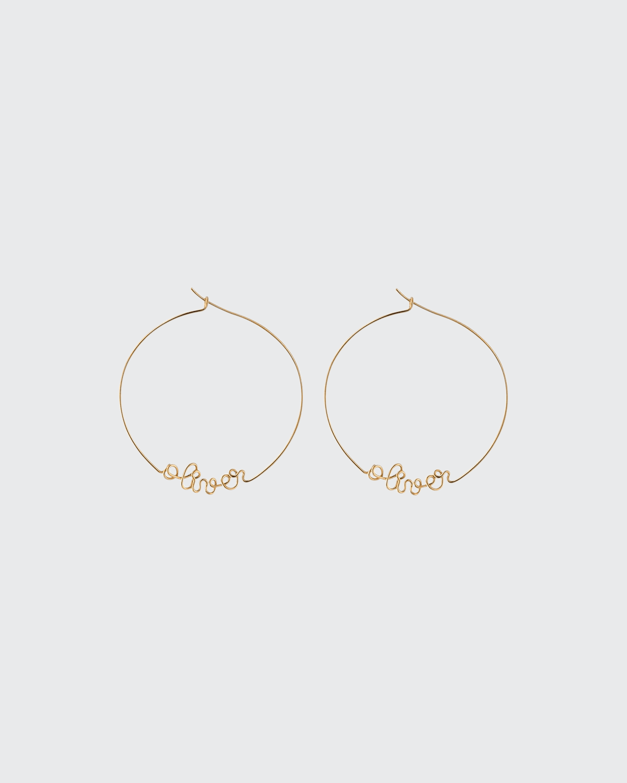 Personalized Gold-Filled Hoop Earrings