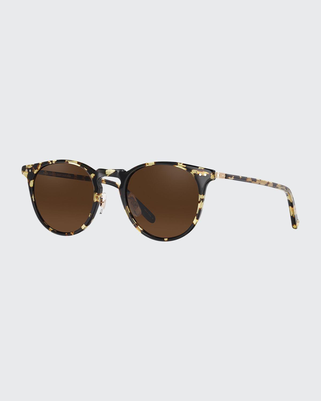 Men's Ocean Block Tortoiseshell Sunglasses
