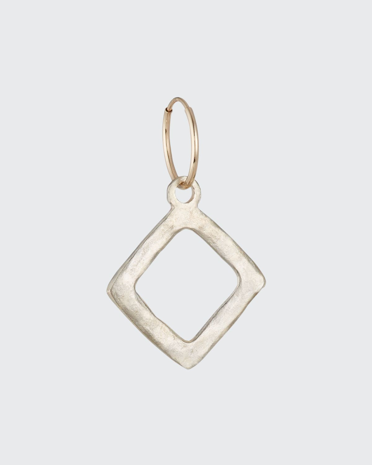 Square Single Compass Earring