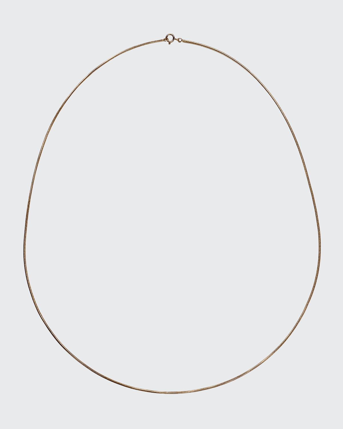 18k Thick Snake Chain Necklace