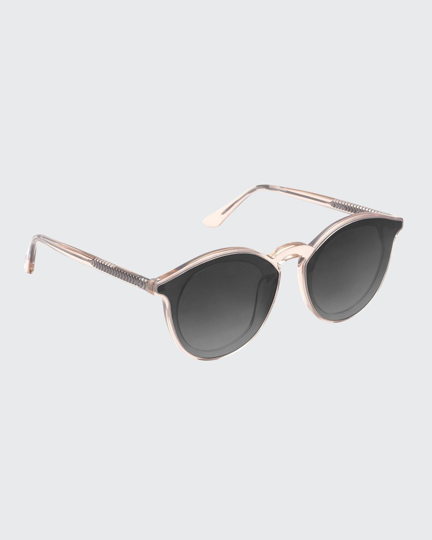 Collins Nylon Round Gradient Sunglasses