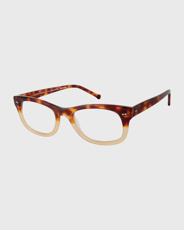 Rectangle Acetate Reading Glasses