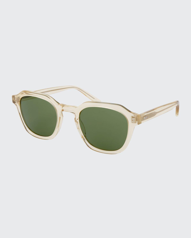Men's Tucker Vintage Square Acetate Sunglasses