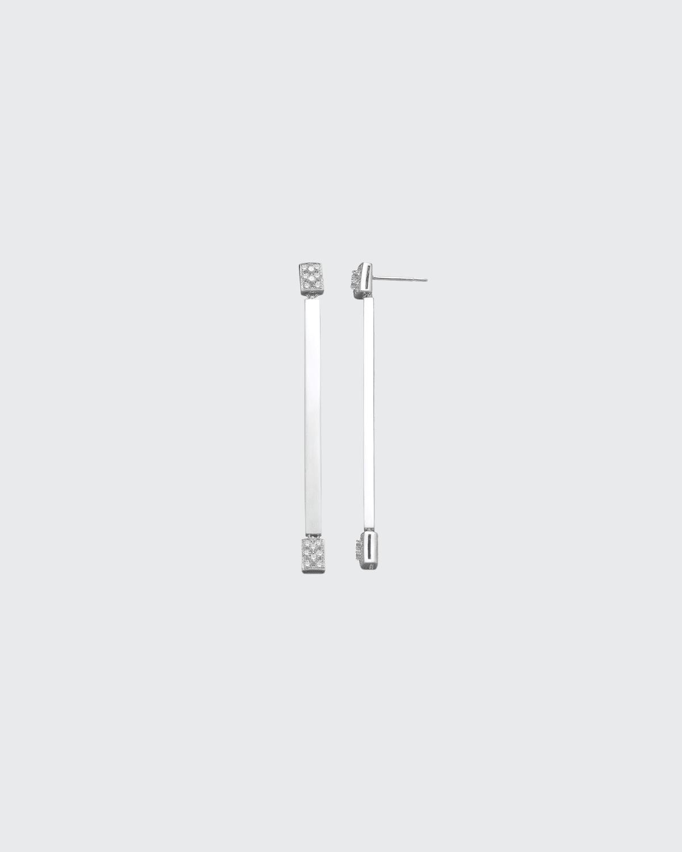 White Gold Drop Earring .62 Ct. Diamond
