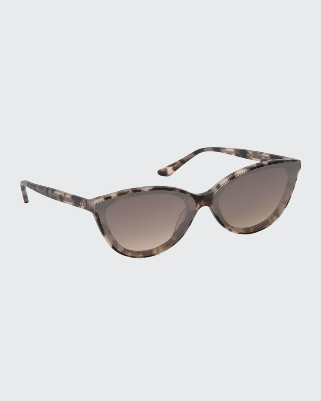 Monroe Nylon Cat-Eye Sunglasses