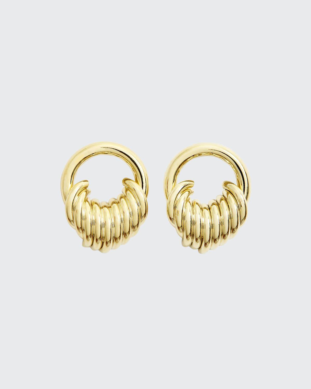 Stacked Hoop Earrings