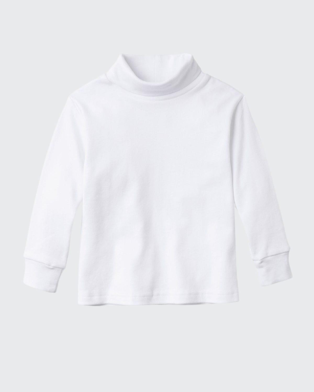 Boy's Patrick Cotton Turtleneck Shirt