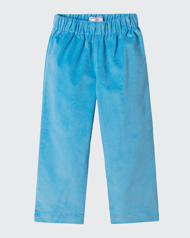 Boy's Myles Slim Corduroy Pants