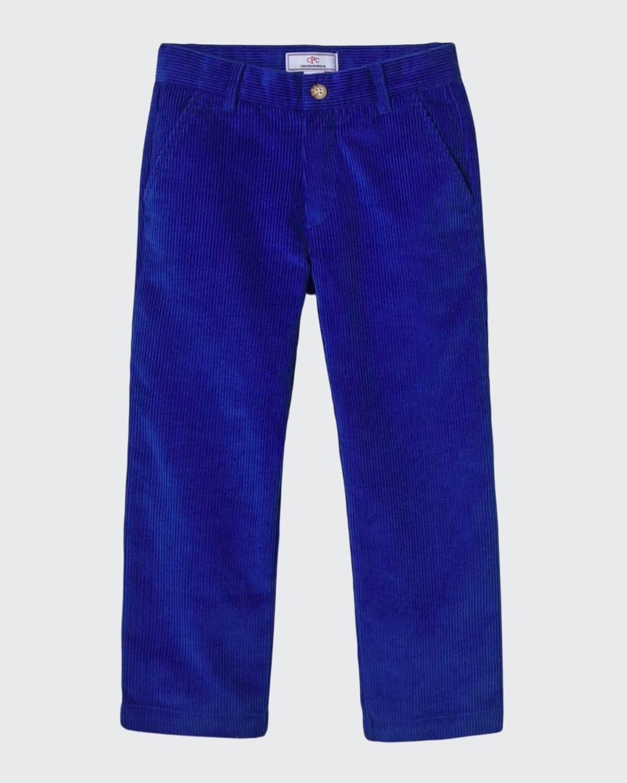 Boy's Gavin Corduroy Slim-Fit Pants