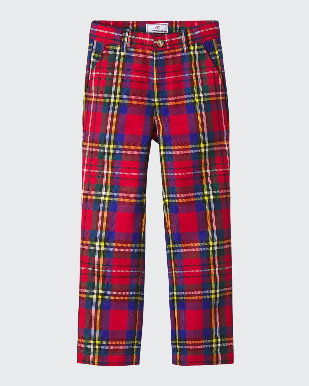 Boy's Gavin Drysdale Tartan Plaid Pants
