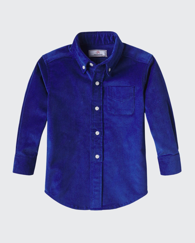 Boy's Owen Corduroy Button-Down Shirt