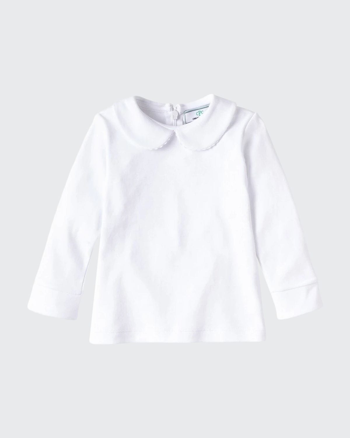 Girl's Isabelle Long-Sleeve Collared Shirt