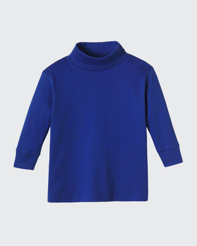 Boy's Patrick Long-Sleeve Turtleneck Shirt