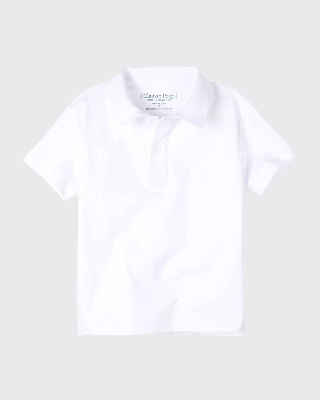 Boy's Henry Cotton Short-Sleeve Polo Shirt