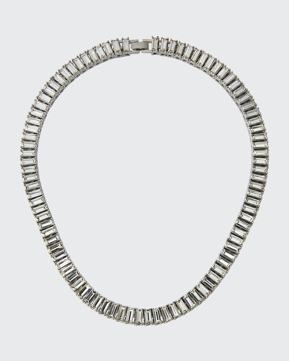 Swag Baguette Collar Necklace