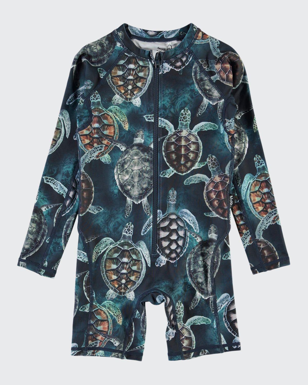 Boy's Neka Long-Sleeve UV Swimsuit