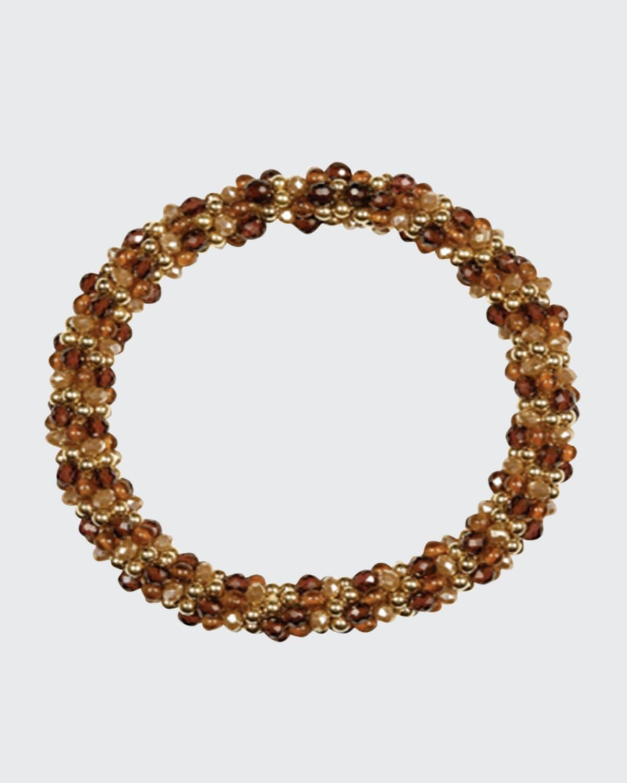 Sue Caramel Bead Bracelet