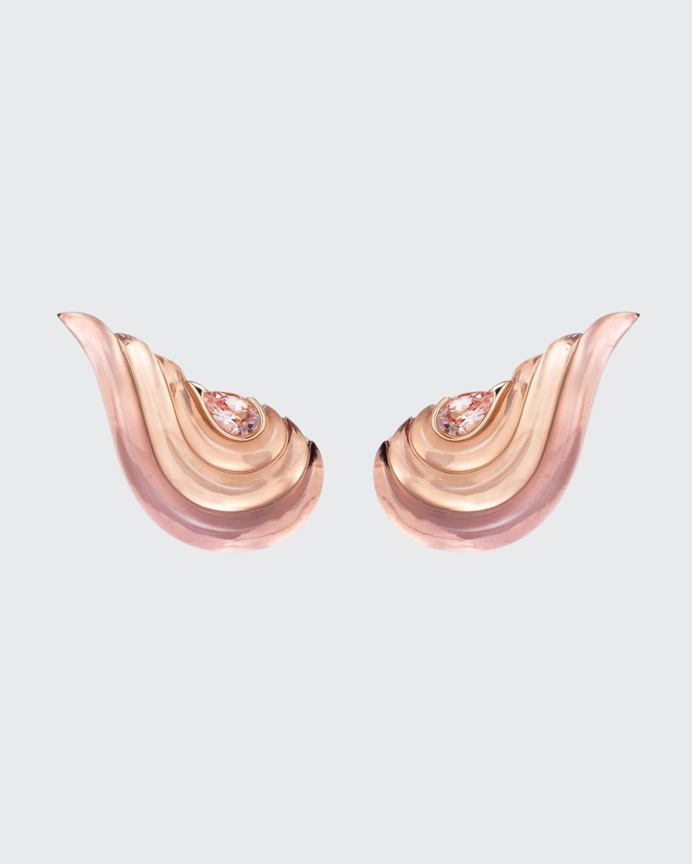 Gleam Earrings 18K Rose Gold