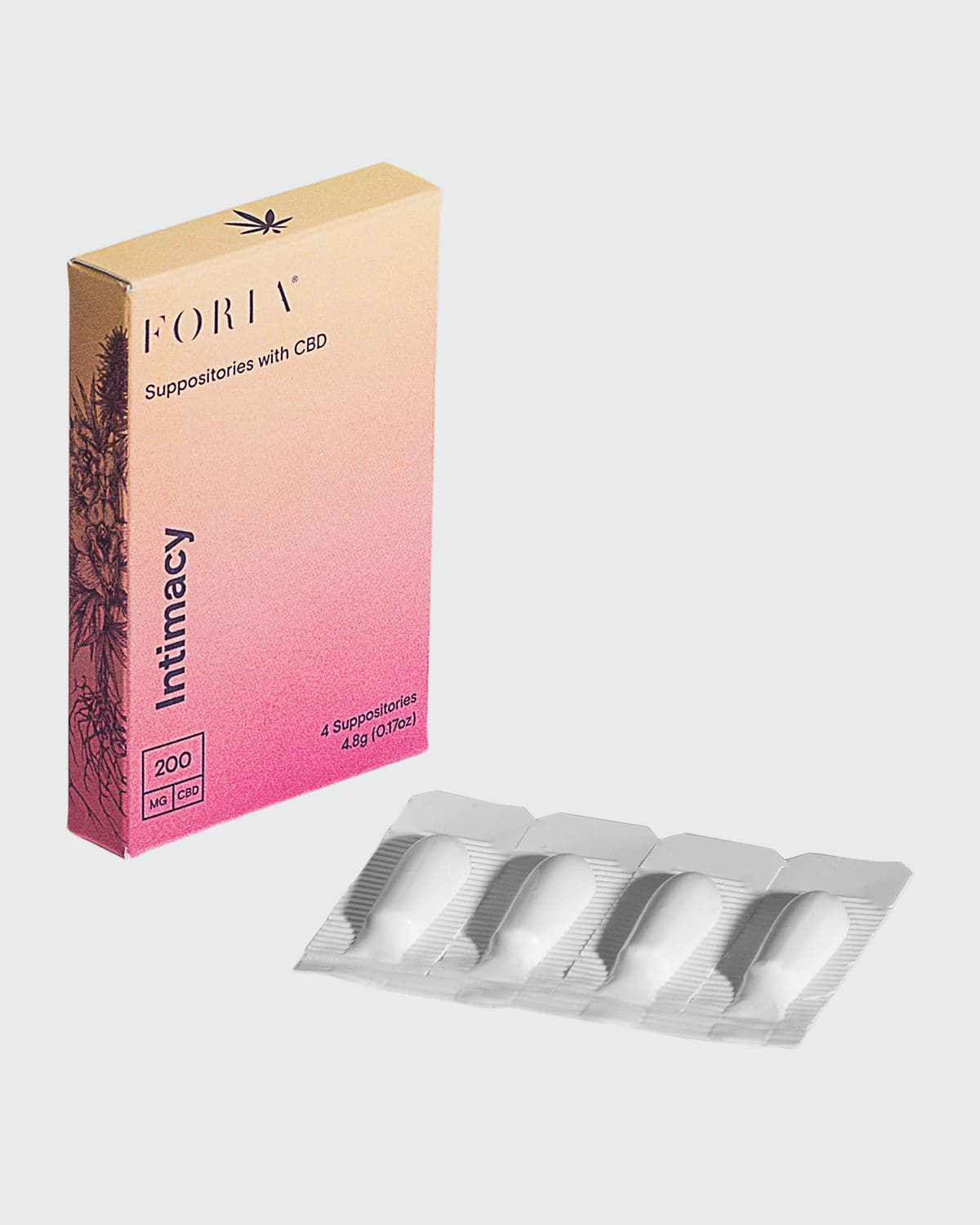 Intimacy Suppositories with CBD
