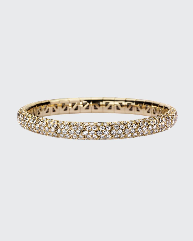 18k Gold Diamond Flex Bracelet (8.85 ct.)