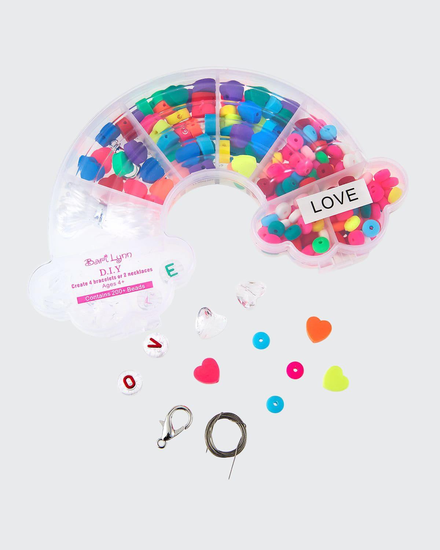 Girl's DIY Love Beaded Jewelry Kit