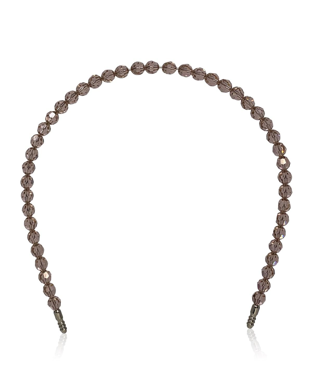 Sunbeam Swarovski Glass Bead Headband