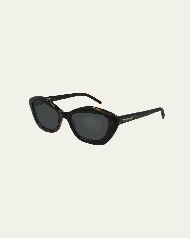 Irregular Acetate Sunglasses