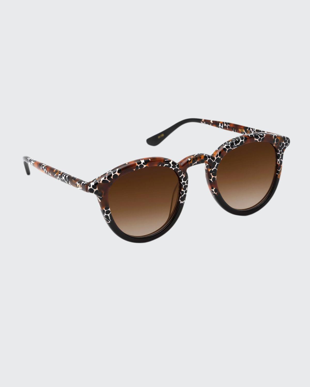 Collins Round Acetate Sunglasses