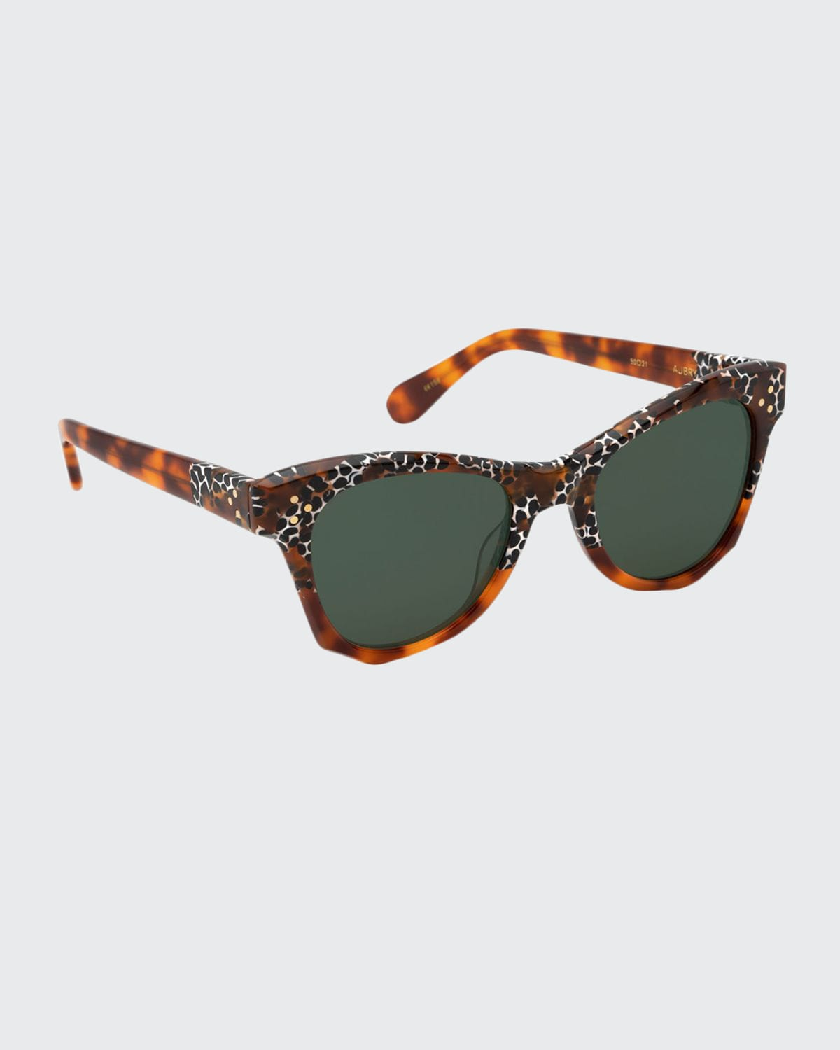 Aubry Acetate Butterfly Sunglasses