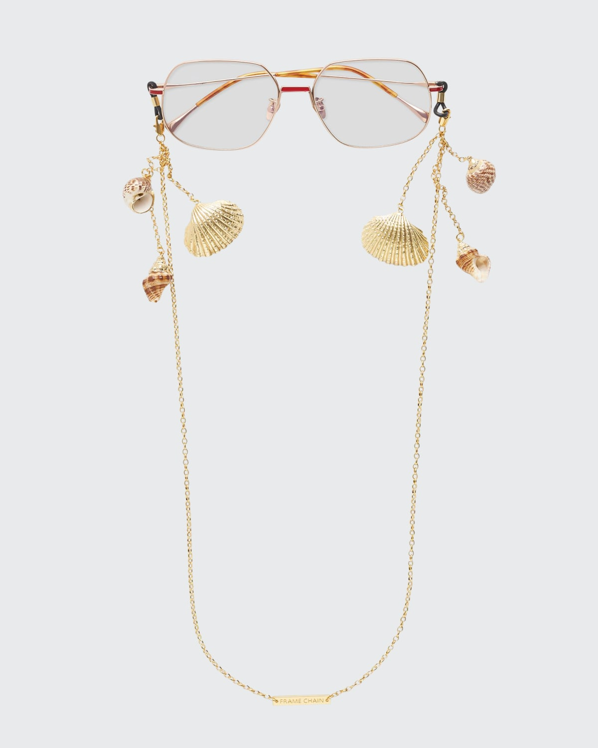 Shellie Conch Chain with Shells