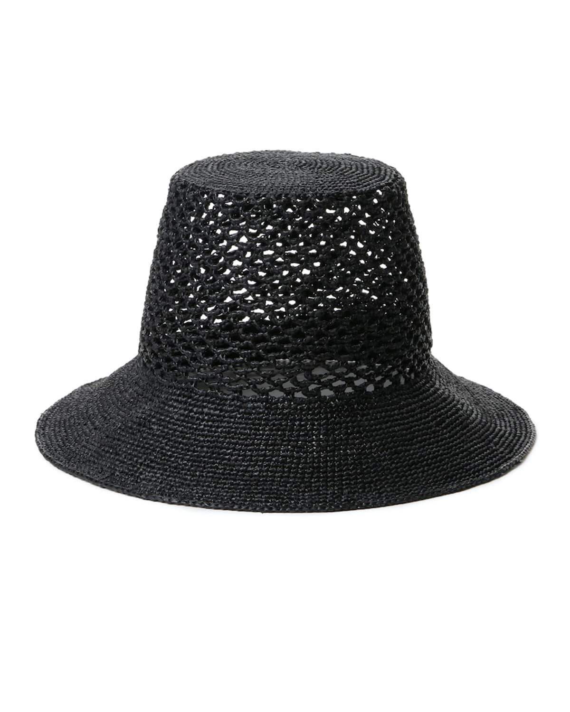 Lynda Woven Straw Bucket Hat