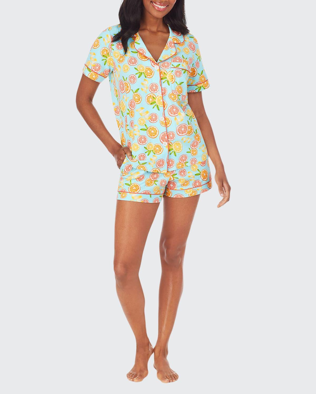 Citrus Grove Classic Short Pajama Set
